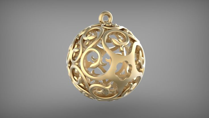 Шар, сфера с орнаментом. Sphere, Ball with ornament. Rhinoceros. Tutorial.