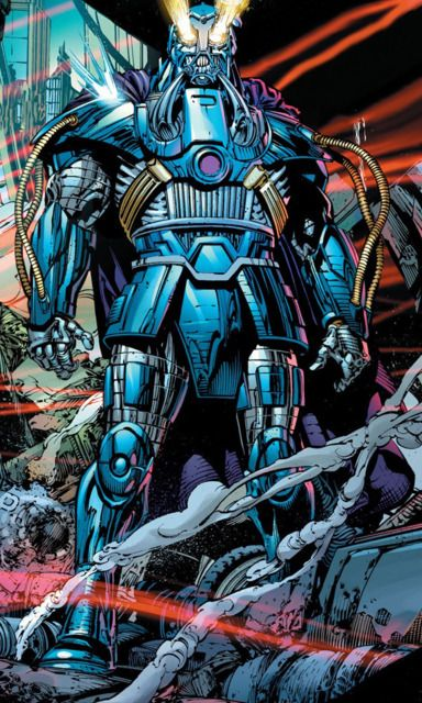 The Anti-Monitor is The Monitor's counterpart from The Anti-matter Universe. He is responsible for the original Crisis on Infinite Earths, was the sole Guardian of The Sinestro Corps and once, against his will, was the source of The Black Lantern Corps Central Power Battery.