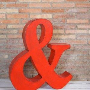 Letra decorativa | La tienda de La Factoría Plástica