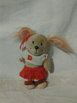 Vintage Joy Time Stuffed Toy Dog