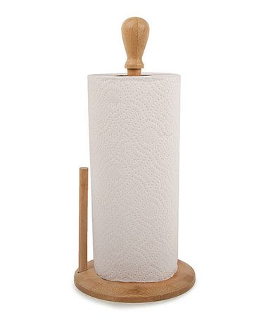 Look what I found on #zulily! Traditional Paper Towel Holder by Core Bamboo #zulilyfinds