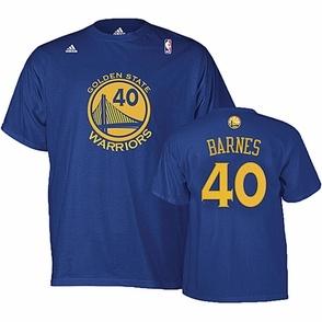 Adidas Harrison Barnes Name And Number T Shirt Royal