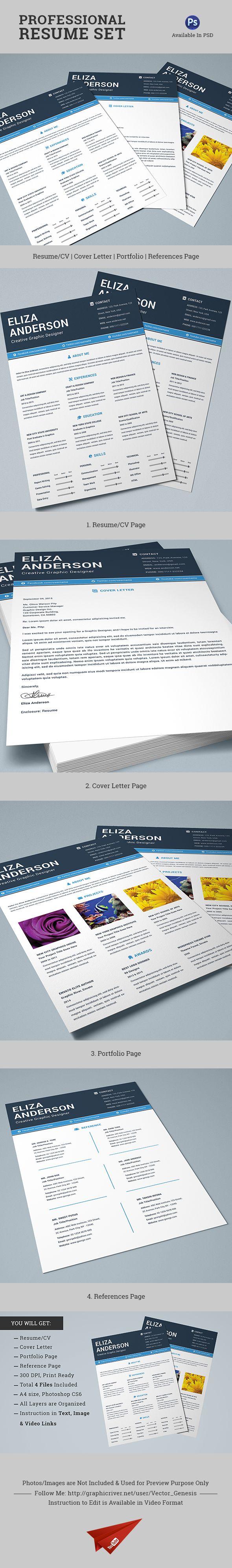 Explore the Professional Resume Set DOWNLOAD httpgoogljyqp99