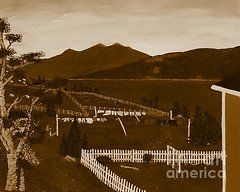 Barbara Griffin Clothesline Images - Moody Monday   by Barbara Griffin