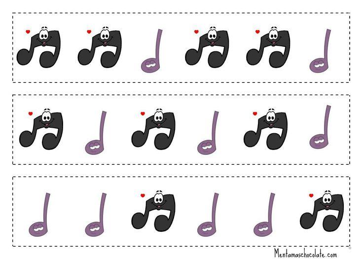 Títol: Notes musicals Autor: Anonim En aquesta fotografia podem observar les diferents notes musicals