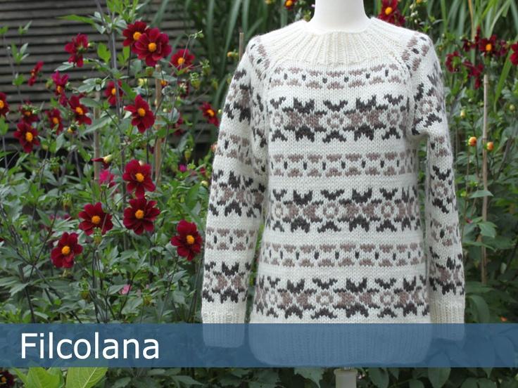 Faroe sweater pattern