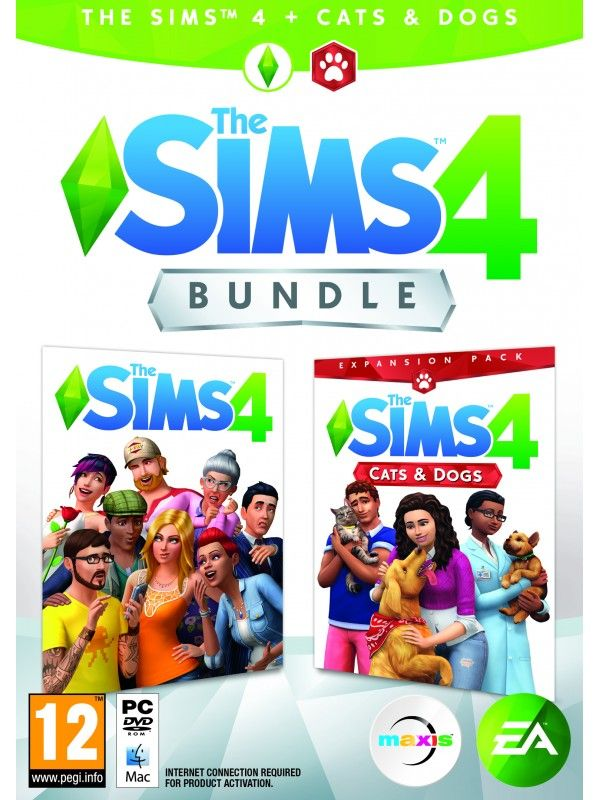The Sims 4 Bundle Pack Cats and Dogs PC