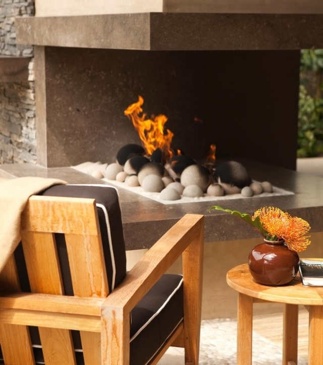 Huntington Beach   Contemporary   Patio   Michael Fullen Design Group   I  Love The Concrete In The Fire And Will Have To Try It!