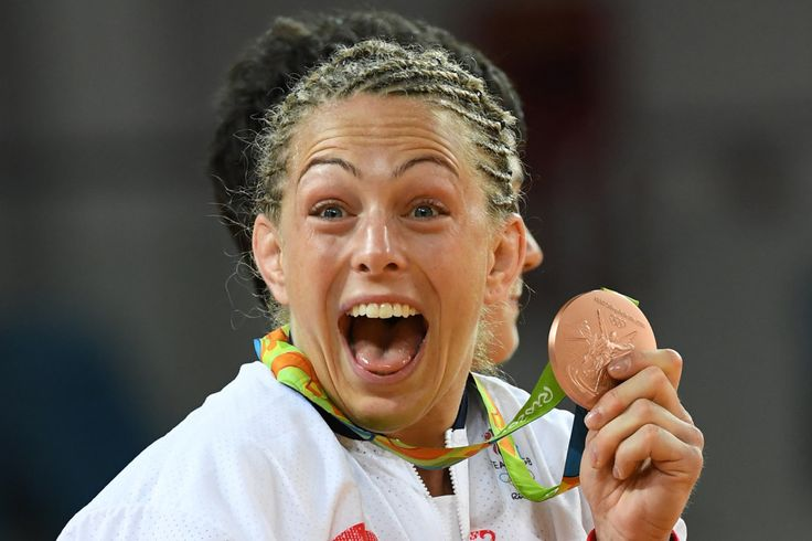 Sally Conway: Bronze in 70kg judo (10 August)