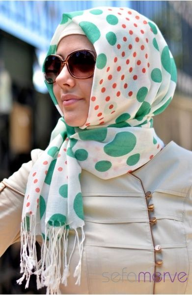 Love this #hijab! #hijabi #style #fashion Sefamerve