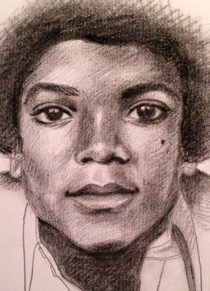 Young MJ unedited drawing