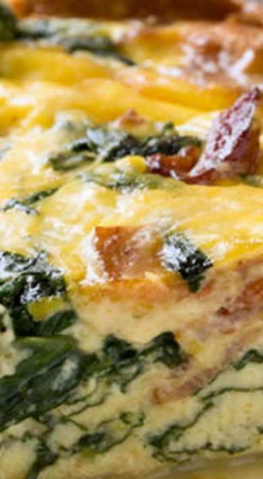 Bacon Spinach Quiche