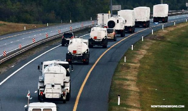 Ukraine Ups The Ante By Destroying Part Of Russian Military Convoy - Now The End Begins