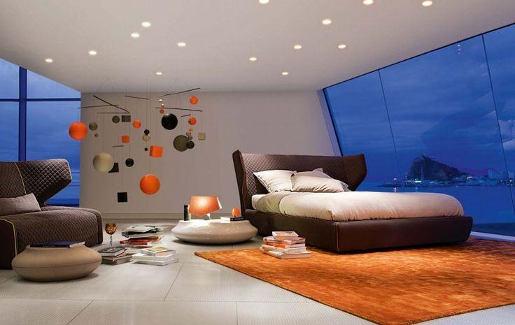 bunt Rot Schlafzimmer Design moderne inspirierende Schlafzimmer Interior Design von Roche Bobois Schlafzimmer Interior Design für moderne Masions (19) mit einem Blick