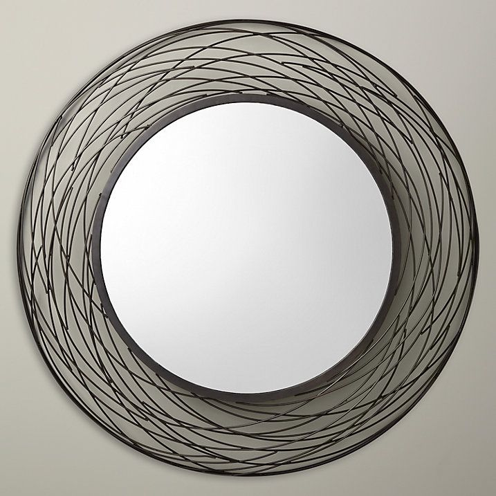 Buy John Lewis Fusion Swirl Mirror, Dia. 114cm Online at johnlewis.com