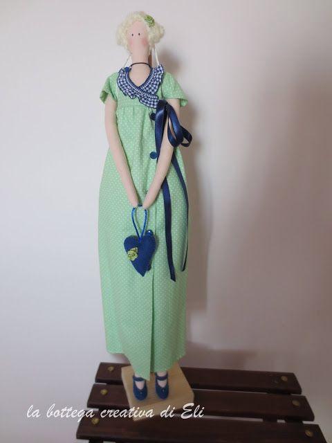 la bottega creativa di eli TILDA JANE AUSTEN #tilda #bambole #dolls #bonecas #cucitocreativo