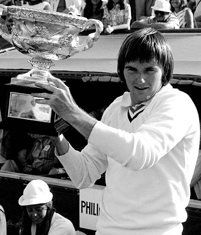 Jimmy Connors, 1974 Australian Open Champion.  #tennis