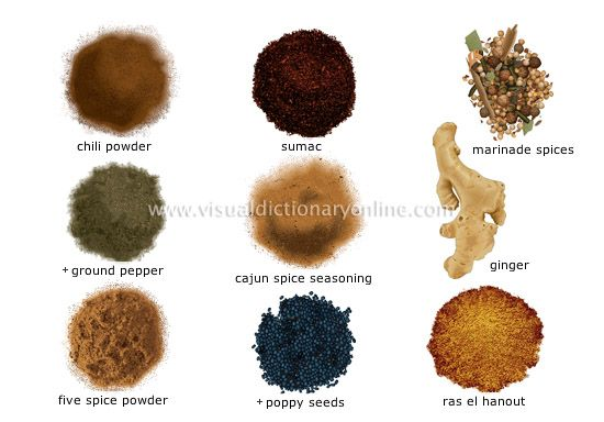 Spices 4 image chili powder sumac marinade spices for 7 spices asian cuisine