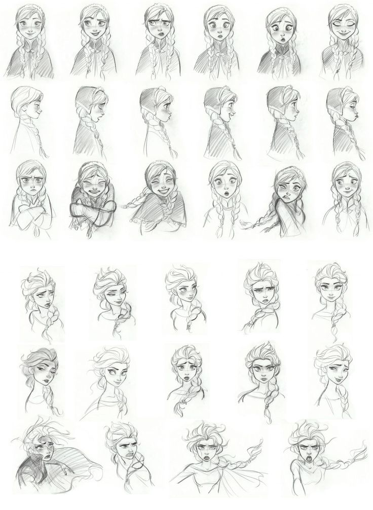 character sketch on four main characters