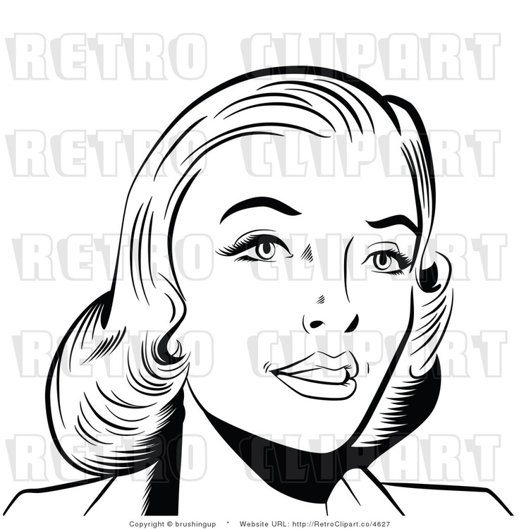 Pop clipart black and white