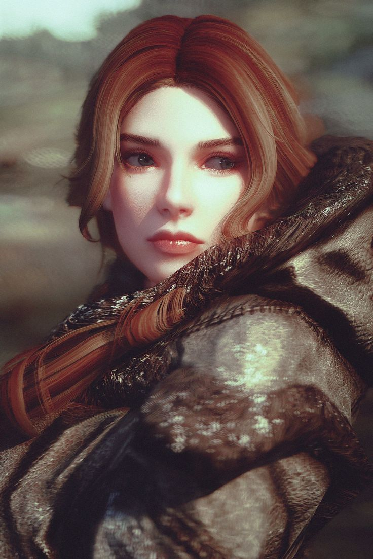 Ygritte?...no It's Tocatta from Skyrim Mod available in Nexus