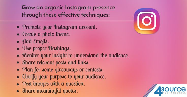 For gaining more Instagram Followers, think about using these amazing organic tactics.