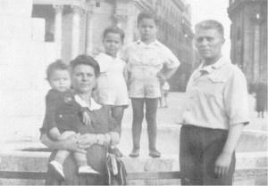 Famiglia a Piazza del Popolo