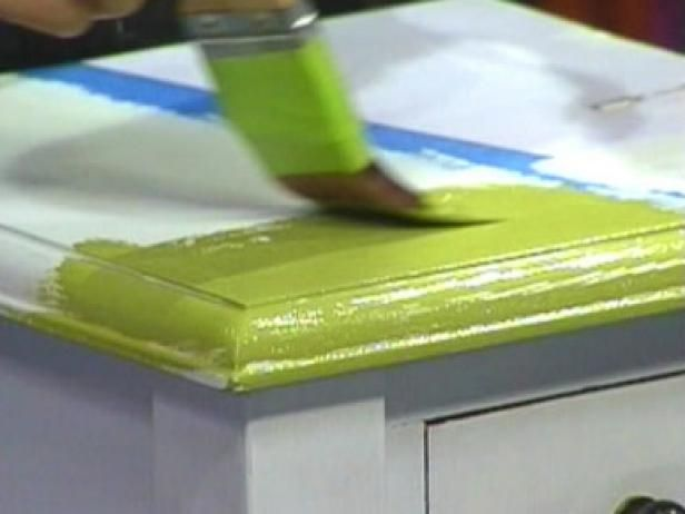 Learn these tips from DIYNetwork.com experts on painting furniture to ensure that your next furniture painting project is a success.