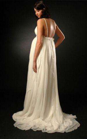 Modest Classic Sleeveless Dress for pregnant women