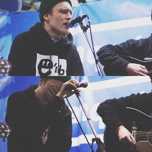Neck Deep - Ben Barlow @ Banquet Records                                                                                                                                                     More