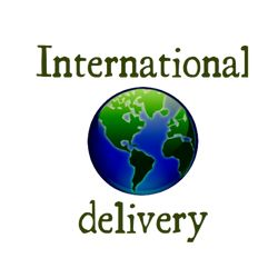 All pieces can be delivered internationally as well as domestically.