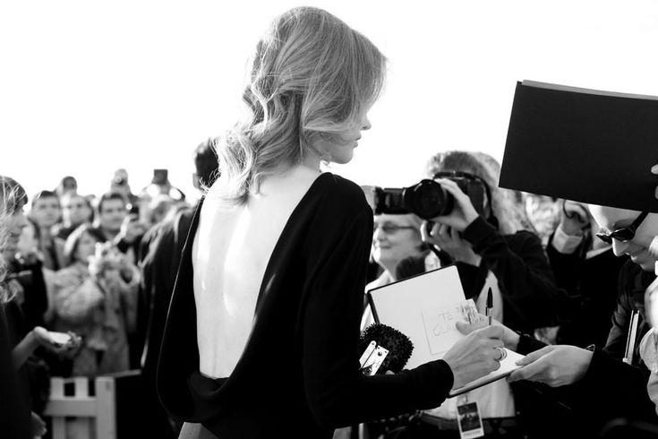 La soirée de clôture du 27e festival du film de Cabourg Le top Natalia Vodianova, à l'affiche du film Belle du Seigneur