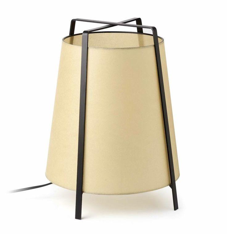 Lámpara de mesa o pie de aire oriental #decoracion #iluminacion #interiorismo #diseño #lamparas #lamparasmesa #lamparasbonitas