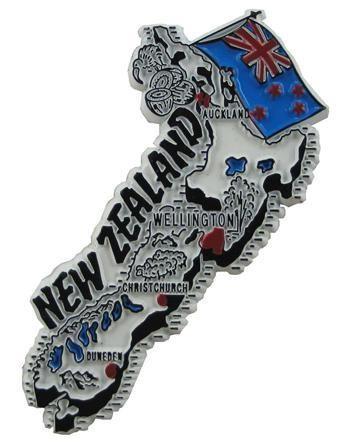 MGI Companies, Inc. - New Zealand - International Country Shaped Map Magnets, $2.89 (http://www.internationalgiftitems.com/new-zeland-magnetic-map)