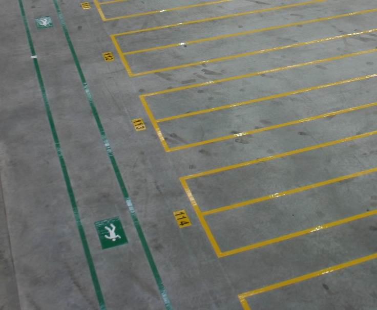 Warehouse striping Industrial Floor Marking Ideas