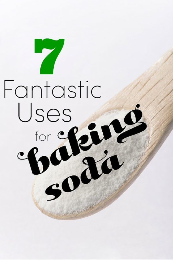 7 Uses of Baking Soda for Cosmetic Treatment and Health