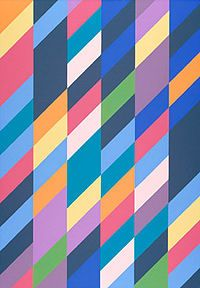 Bridget Riley - Shadow Play, 1990, oil on canvas  Wikipedia, the free encyclopedia