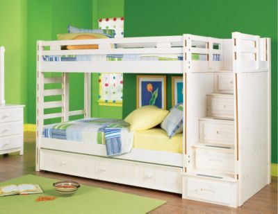 Bunk beds for kids loft bunk beds with stairs rooms to for Room to go kid