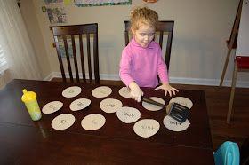 Teaching, Training & Tantrums: Site Word Pancakes