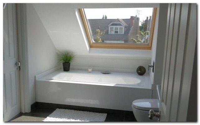 Simple Loft Conversion Ideas For Dormer Small Attic Bathroom