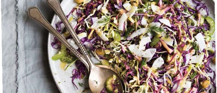 Cabbage + Chickpea Salad (Vegan, Gluten-Free) - mindbodygreen.com