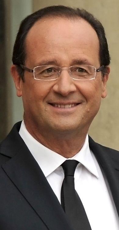 Comida con el Presidente de la República Francesa, François Hollande, París…
