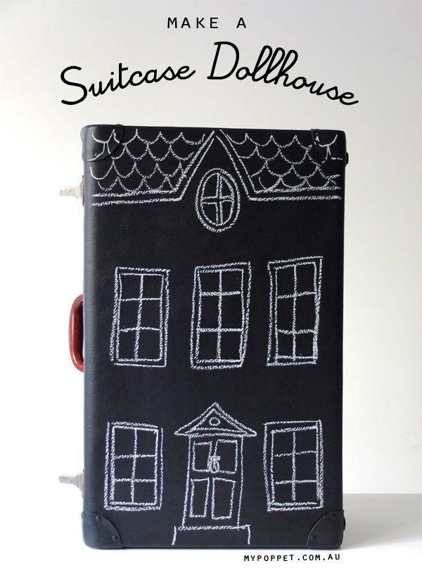 Upcycle Style: Suitcase Dollhouse for Samsonite's Suitcase Amnesty