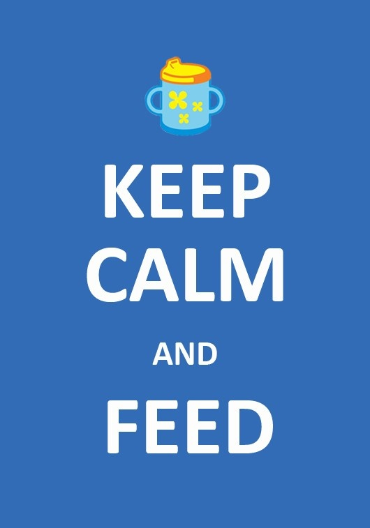 Keep calm & Feed