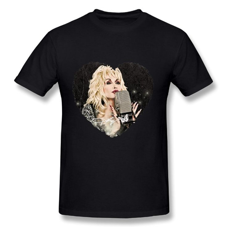 T Shirt For Men Dolly Parton Pure & Simple Tour 2016 Logo -- Awesome products selected by Anna Churchill