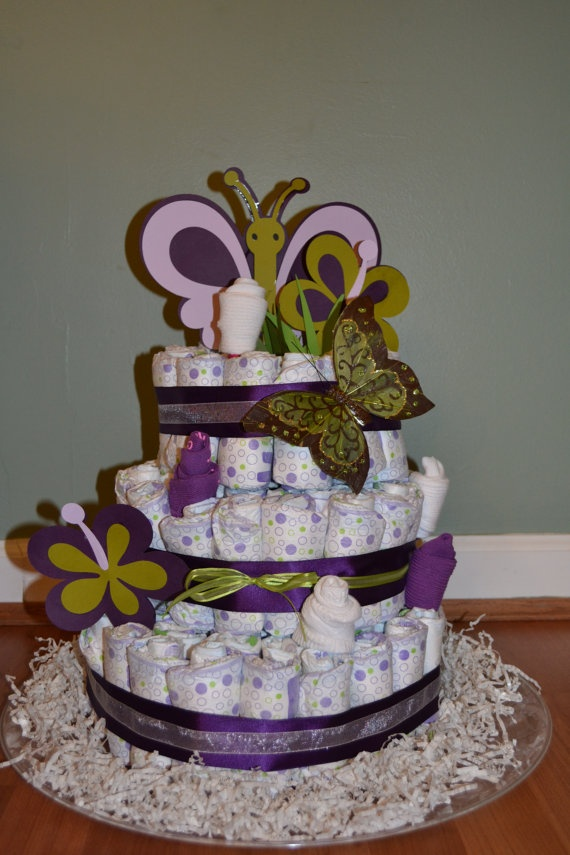 baby diaper cake 17 best images about purple babyshower on 1421