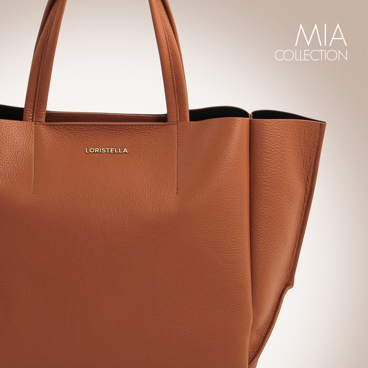 MIA COLLECTION  #loristella #bags #mia #leather #madeinitaly #camel #bag #accessories #winter #collection #shopper #classy #chic