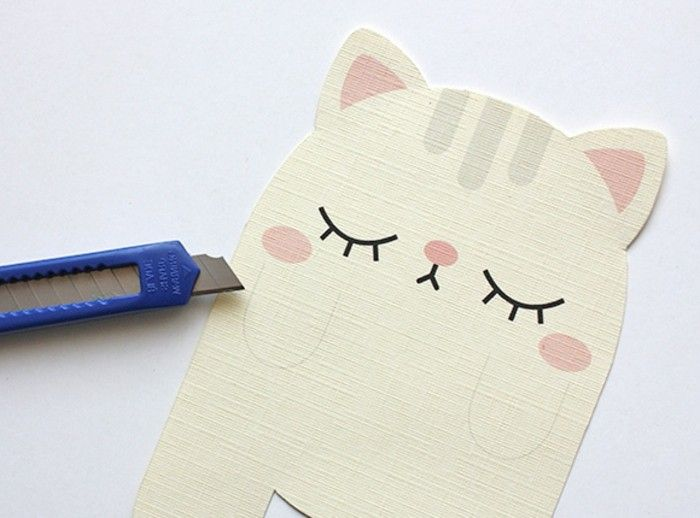 милые картинки из бумаги могут