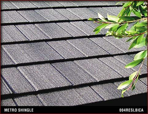 Look Carefully   These Beautiful Speckled Gray Roofing Shingles Are  Eco Friendly Metro Shingle®