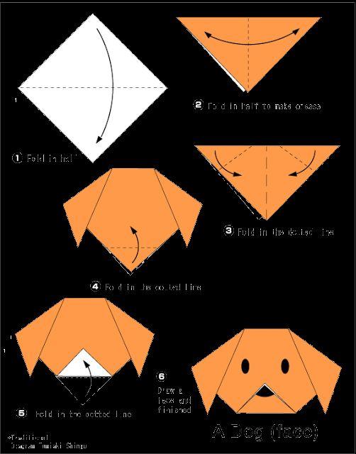 origami-amazing.b … Hundegesicht